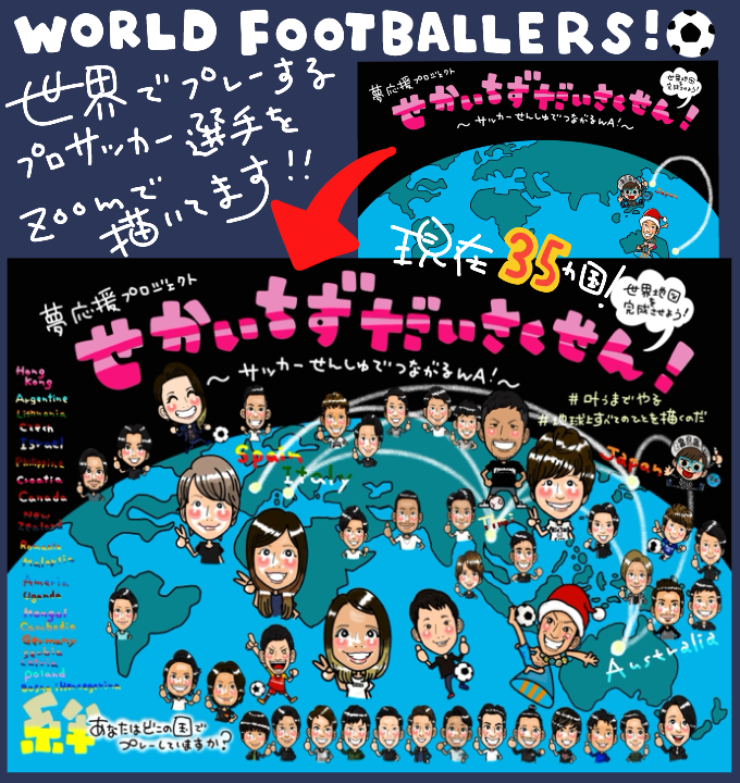 WORLD FOOTBALLERS